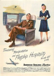 american airlines stewardess