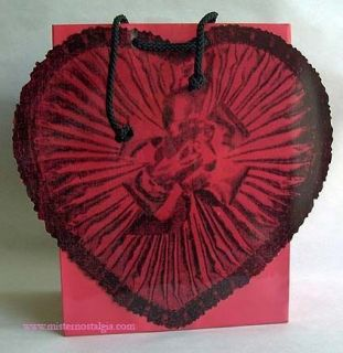 RED HEART LOVE Pop Art Andy Warhol VALENTINE GIFT TOTE BAG New
