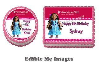 AMERICAN GIRL KANANI Birthday Party Cake Topper Cupcake Decoration