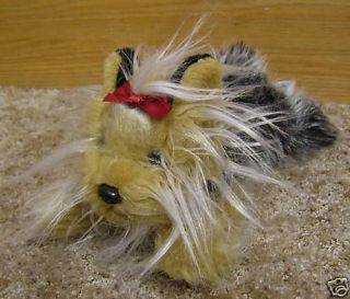 ANIMAL ALLEY PLUSH YORKIE PUPPY DOG *NWOT*