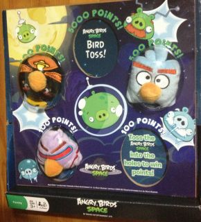Angry Birds Space Bird Bean Bag Toss Game