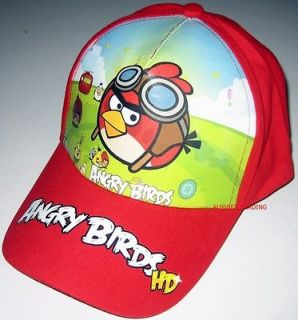 Angry Birds Cap / Hat new season 2012 Brand new Red