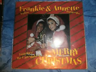 45 RPM Record   Frankie Avalon & Annette Funicello PS VG++ Merry