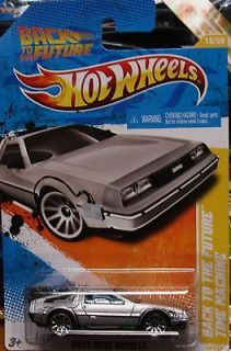 Hot Wheels New Models Back To The Future Time Machine Save On Shipping