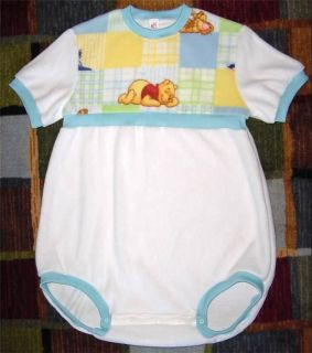 Adult Sissy Baby Romper Fuzzy Pooh by Annemarie