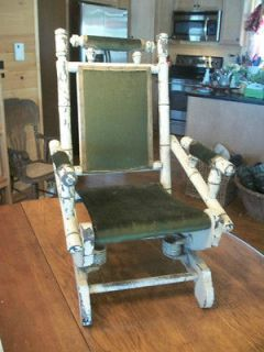 antique platform rocking chair in Chairs