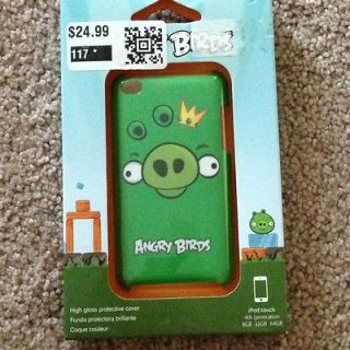 Apple IPod Touch Angry Birds Case Green Pig by GEAR 4