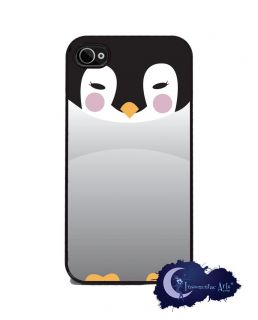 Baby Penguin iPhone 4 and 4s Silicone Rubber Cover, Cell Phone Case