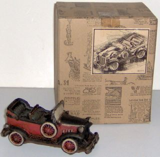 Antique Pedal Car Cast Resin Model 40171 Popular Imports 1998 NIB