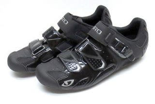 GIRO TRANS ROAD BIKE CYCLING SHOES BLACK 43.5 EU 10 US CARBON FIBER