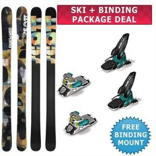 Scott Punisher Skis 2013 + Marker Jester 16 Bindings