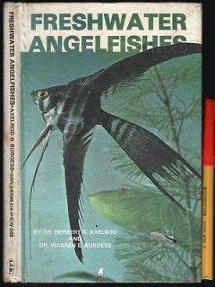 ANGELFISHES Angel Fish 93 page Tropical Aquarium hardcover Handbook