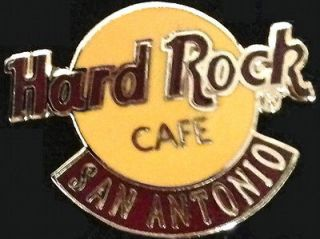 Hard Rock Cafe SAN ANTONIO 1990s Small Classic HRC Logo PIN 2LC