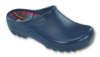 Mens Garden All Weather Nursing Uniform Comfort Clogs Shoes Navy Blue