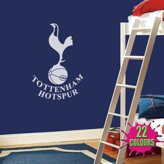 Tottenham Hotspur Badge   Wall Decal Art Sticker football sport