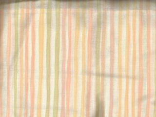 Pastel Candy Stripe Full Bed Skirt in Tailored or Ruffle Style