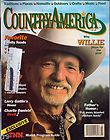 Country America Magazine March 1990 Willie Nelson   Charlie Daniels