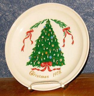 1978 Lillian Vernon Carrigaline Pottery 7 Plate
