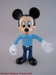 Disney BENDABLE MICKEY MOUSE RUBBER PVC FIGURE Arco Bendy Toy 4.5