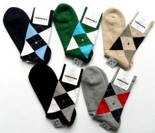 Socks Mens Classic Original Argyle Cotton Socks Dorset UK 6.5 11