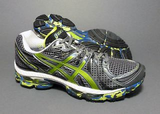 Asics mens Gel Nimbus 13 Limited Edition running shoes   Carbon / Lime
