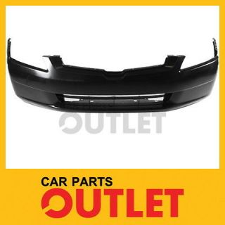 2003 2004 2005 HONDA ACCORD SEDAN FRONT BUMPER COVER LX RAW BLACK