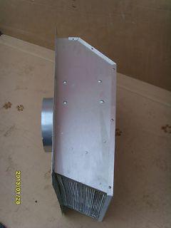 hood exterior wall or roof cap power ventilator exhaust fan/blower