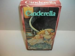 Cinderella   Starmaker Entertainment VHS Animated kids cartoon video
