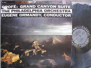 Newly listed GROFE GRAND CANYON SUITE SIX EYES COLUMBIA –