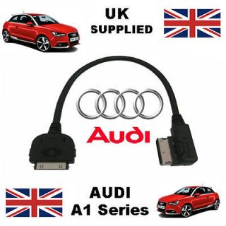 Genuine AUDI A1 Series AMI MMI 4F0051510K iPhone iPod USB & Aux Cable