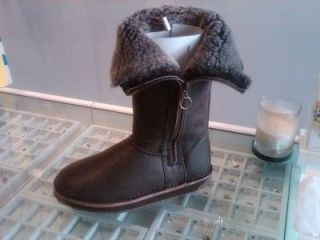 Authentic EMU Australia Womans Ashby Chocolate Boots All Sizes Crackle