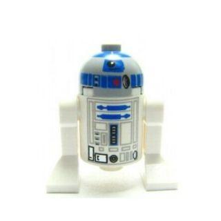 LEGO Star Wars minifig ASTRO DROID R2 D2 astromech