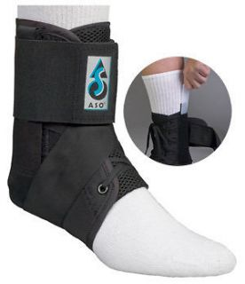 NEW MedSpec ASO Ankle Brace with Plastic Stays Inserts Stabilizer