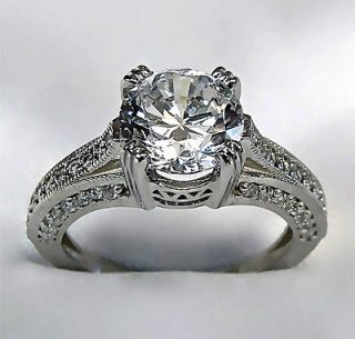 white gold engagement ring in Engagement/Wedding Ring Sets