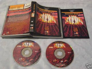 The Stand Special Edition DVD Stephen King OOP R1