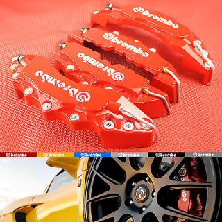 Red 3D Brembo Style Brake Caliper Covers AUDI A2 A3 A4 A6 A8 QUATTRO S