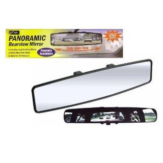 PANORAMIC REAR VIEW MIRROR ATTACHMENT FOR CAR TRUCK WIDE REARVIEW AUTO