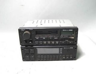 900 Turbo Radio Cassette & Equalizer Set OEM Clarion 0273680 0273672