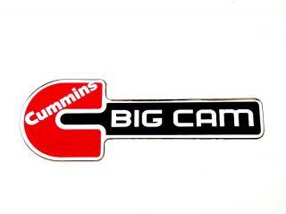 Cummins BIG CAM (Big C) Emblem RED