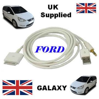 Genuine FORD GALAXY 1529487 iPhone iPod USB & Aux Cable replacement