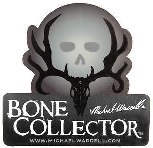 Bone Collector ~ SHADOW SKULL ~ Window Decal Truck Auto