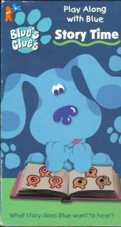 Blues Clues   Story Time (VHS, 1998)