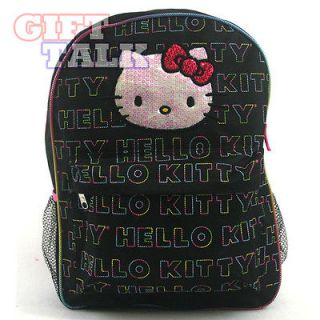 Sanrio Hello Kitty School Backpack 16 Large School Bag   Beads Kitty