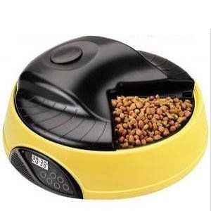 New 4 Meals LCD Digital Automatic Pet Feeder Cat Dog Food Bowl