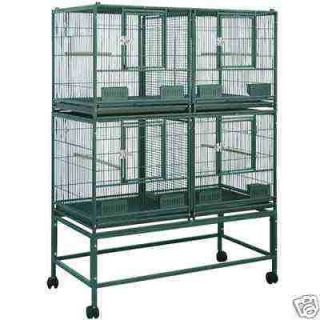 ELFDD 4020 PARROT STACK BREEDER CAGE 40x20x53 bird cages toy toys