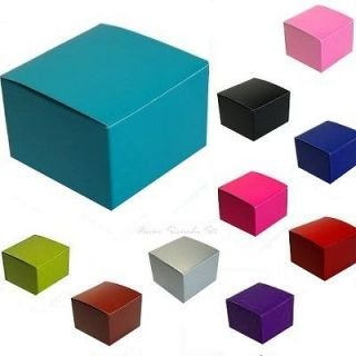 Wedding Party Favor Cookie Candy Gift Treat Boxes 3x3x2 50 bxs