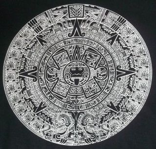 aztec calendar t shirt in Clothing, Shoes & Accessories