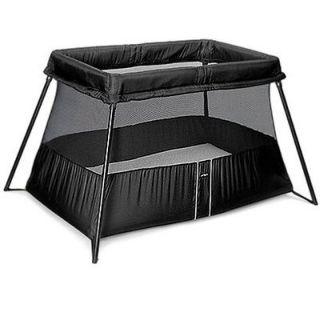 Travel Crib Light 2 Baby Play Yard/Bassinet (Black)  040180US