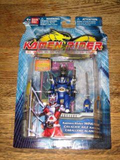 KAMEN RIDER WING KNIGHT ACTION FIGURE BAN DAI NIB BLUE