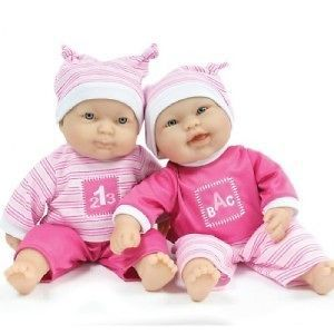 LOTS TO CUDDLE 12 BERENGUER BABY TWIN PLAY DOLLS